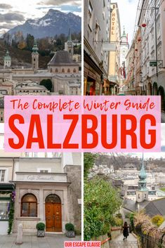 Salzburg In Winter A Massively Detailed Guide Our Escape - Salzburg In Winter Is An Absolute Delight As A City That Resembles A Fairytale Village Complete With An Looming Castle On A Hill A City That Appreciates The Glitz And Beauty Of A Winter Concert A Salzburg Austria, Amazing Destinations, Travel Destinations, Winter Destinations, Austria Winter, Online Travel Agent, Europe Travel Tips, European Travel, Travel Guides