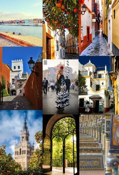 Sevilla moodboard by The slow pace