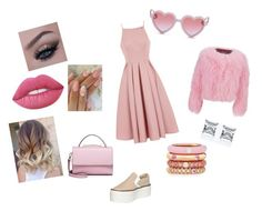 """Без названия #217"" by kristinakotenko on Polyvore featuring мода, Chi Chi, Jeffrey Campbell, WithChic, Sons + Daughters, Lime Crime, Charlotte Simone и Adolfo Courrier"
