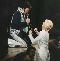 Elvis cared about his fans from child to senior citizens.