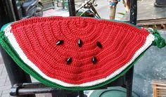 Pouch Semangka Rp. 150.000 Not Ready Stock Benang Poly Bisa request warna dan ukuran #jualtas #rajutan #jualtassurabaya #handmade #crochet #jualtasrajutsurabaya
