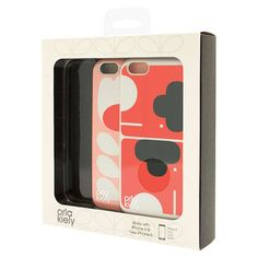 BuyOrla Kiely Elephant and Tulip Stem Cases for iPhone 6, Pack of 2, Multi Online at johnlewis.com