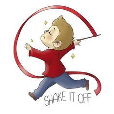 Shake it off. Supernatural Parody art.