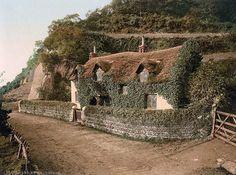 english cottages | Swiss cottage, Lee Devon, England