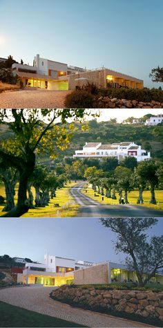 The design and country hotel Vila Valverde is located on the outskirts of Lagos in the Algarve, in a beautiful location overlooking the bay of Praia da Luz. Country Hotel, Country Estate, Algarve, Hotels Portugal, 19th Century, Restoration, Boutique, Mansions, House Styles