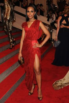 Kerry Washington Photo - American Woman: Fashioning A National Identity Met Gala - Arrivals (2010)