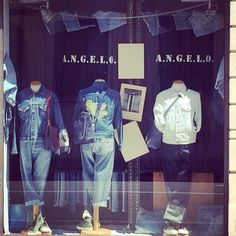 Denim Shop Window in occasion of MADE IN DENIM for VINTAGE SELECTION 2014