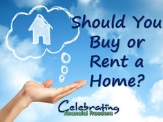 Buying or renting- which is best for you?  This post will help you decide