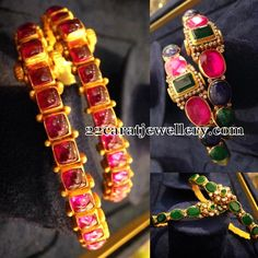 Attractive Ruby Bangles Gallery - Jewellery Designs