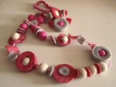 Metal Jewelry, Diy Jewelry, Diy Accessories, Crochet Necklace, Beaded Bracelets, Handmade Necklaces, Pink, Fimo, Jewerly