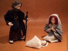 Купить Рождественский вертеп на заказ Рождество Иосиф Мария - фигурки для вертепа, заказать сделать вертеп