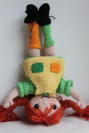 Crochet Girls, Crochet For Kids, Crochet Baby, Knit Crochet, Crochet Toys Patterns, Stuffed Toys Patterns, Pippi Longstocking, Cheap Toys, Diy Doll