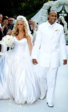 Kendra Wilkinson Baskett's wedding dress designed by herself & Armine Ohanessian