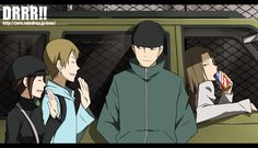 Tags: Anime, Durarara!!, Kadota Kyouhei, Karisawa Erika, Saburou Togusa