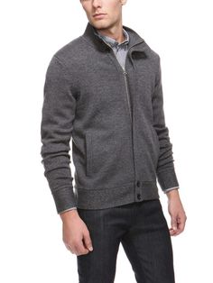 63019a86591 Pollard Zip Front Sweater by Theory at Gilt