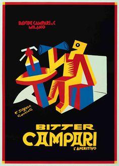 Manifesto Campari, 1950