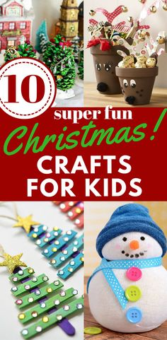 Christmas crafts, craft ideas for kids, Christmas decor