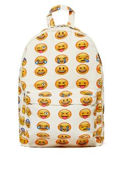 Emoji-nal Backpack | Shop What's New at Nasty Gal