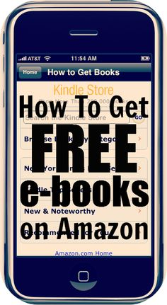 How To Get FREE E-Books on Amazon