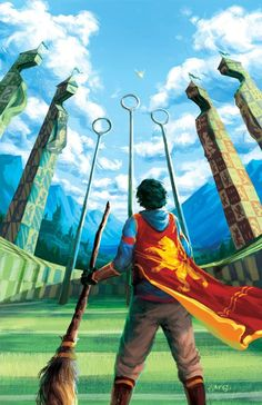 Harry Potter Harry Potter Quidditch Print - Gryffindor - 11 x 17 inches. Gloss Printed on Carolina 12 pt. Harry Potter Quidditch, Fanart Harry Potter, Capa Harry Potter, Arte Do Harry Potter, Harry Potter Cosplay, Harry Potter Tumblr, Harry Potter Cast, Harry Potter Wallpaper, Harry Potter Characters