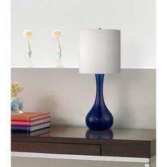 Monaco Blue Kiss Table Lamp