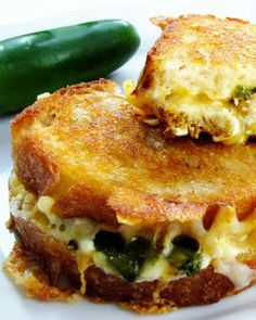 JalapeNo Popper Grilled Cheese | Sweet Anna's