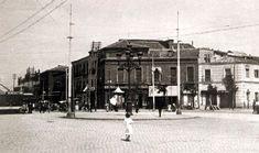 Glorieta de Cuatro Caminos (1912), a la izquierda la carretera de Francia (actual calle de Bravo Murillo); a la derecha, calle de los Artistas - Portal Fuenterrebollo