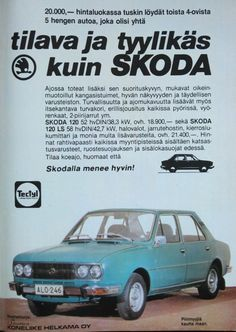Paivan automainos Skoda 120 Tekniikan Maailma 7 1979 Kuva CvB Skoda 120, Daihatsu, Koenigsegg, Rolls Royce, Maserati, Buick, Aston Martin, Subaru, Mazda
