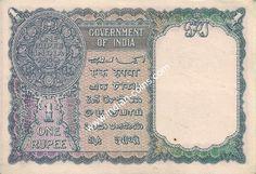 British India Bank Notes - Si No 653854