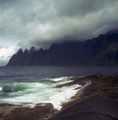 Enlightenment, via Flickr. | Ersfjorden - Devils jaws; Norway