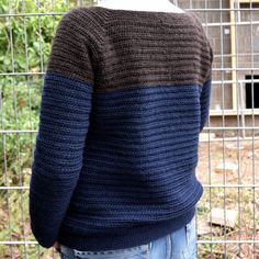 Den nemmeste sweater Beautiful Crochet, Crochet Clothes, Free Pattern, Knitwear, Knit Crochet, Diy And Crafts, Crochet Patterns, Pullover, Clothes For Women