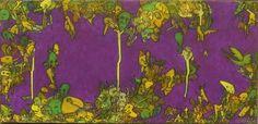 Ed Style - 60x30 cm - Acrylique et pastel à l'huile sur toile