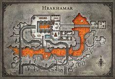 tomb annihilation dnd map dungeon maps 5e dwarven forge dwarf fortress lava minecraft ravine mine dungeons magma blacksmiths puzzle armor