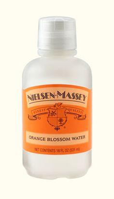 Nielsen-Massey's Orange Blossom Water - Happy Orange Blossom Water Day (June 27th)!