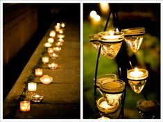 Floating decorating candles for wedding Wedding Goals, Diy Wedding, Wedding Venues, Wedding Cakes, Best Wedding Planner, Wedding Planners, Seasonal Decor, Candle Jars, Centerpieces