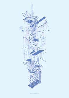 The Tragic World of Vanceux Solange, The Joyous Inventor Nhut Nguyen. VUW 2015.