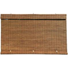 Radiance Fruitwood Cord-Free Interior/Exterior Matchstick Bamboo Manual Roll-Up Shade 60 in. W x 72 in. L - 1108119 - The Home Depot Outdoor Blinds, Outdoor Shade, Indoor Outdoor, Outdoor Living, Outdoor Curtains, Backyard Shade, Patio Shade, Backyard Pergola, Pergola Plans
