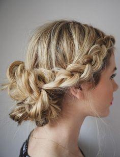 barefoot blonde blogger hair/makeup inspo hairstyles braid hipster wedding wedding hairstyles blouse jewels bun