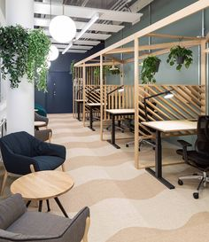 Coworking space at MOW Supernovas coworking campus in Tampere Finland Art prints? Buy now. Use this code for off: Check out on MarbleArtCo The post Coworking space at MOW Supernovas coworking campus in Tampere Finland appeared first on Design Ideas. Corporate Office Design, Open Office Design, Office Interior Design, Office Interiors, Office Designs, School Office Design, University Interior Design, Modern Interior, Open Space Office