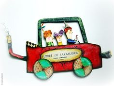 Juliana Bollini est une artiste plasticienne, illustratrice d'origine argentine : cette dernière vit aujourd'hui à Sao Paulo au Brésil. Petite, elle s'amuse déjà avec papier et crayons, réalise des collages, coud et brode les habits de ses poupées. Elle n'abandonne pas sa passion puisque quelques an