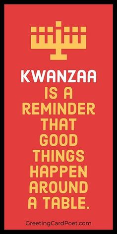 Kwanzaa, an African-American holiday celebrating family, history, culture, and community, is observed every year for seven days from December 26 to January 1. #kwanzaa Happy Kwanzaa, Happy Eid, Happy Hanukkah, When Is Kwanzaa, National Celebration Days, Seven Principles Of Kwanzaa, National Bacon Day, Cooperative Economics, African Proverb
