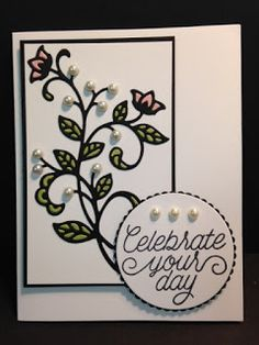 Designer Tin of Cards, Flourish Thinlits, Anniversary Card, Stampin' Up!, Rubber Stamping, Handmade Cards
