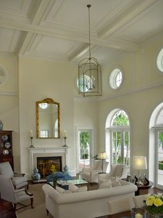 Crown molding on ceiling -4