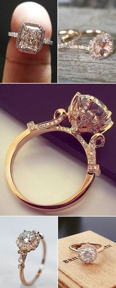 http://rubies.work/0105-ruby-rings/ 0292-sapphire-ring/ gorgeous rose gold wedding engagement rings: