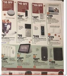 Home Depot Black Friday 2019 Ads and Deals Browse the Home Depot Black Friday 2019 ad scan and the complete product by product sales listing. Black Friday News, Black Friday 2019, Home Depot Coupons, Ring Video Doorbell, Printable Coupons, Ads