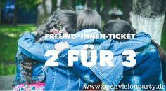 Mit Freund*innen zur OpenVision-Party 10. Juni Lüneburg, 11. Juni 2016 Hamburg www.openvisionparty.de