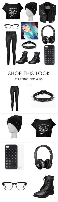"""""""Gwen Cassandra Chapter 2"""" by sup-its-alex-peace ❤ liked on Polyvore featuring Helmut Lang, Burberry, Forever 21, Beats by Dr. Dre and GlassesUSA"""