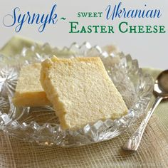 Syrnyk Sweet Ukranian Easter Cheese 2 title