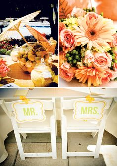 Link to the cite for lots of citrus-colored wedding ideas