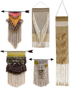 """This could be great for those """"leave behind""""s - perhaps fringe can be made by raveling fabric?"""